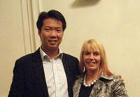 Feng Shui teachers Vicky Sweetlove Joey Yap
