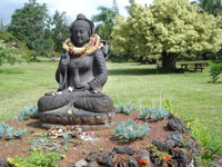 Buddha feng shui garden