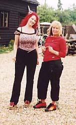 Vicky Sweetlove appearing on Jane Goldman Investigates
