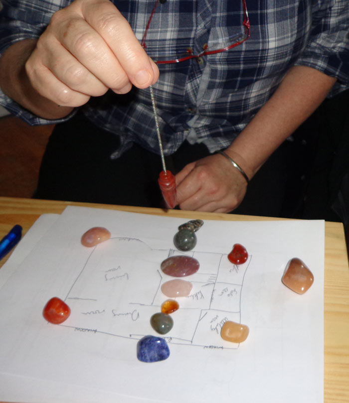 Advanced dowsing course - dowsing for health