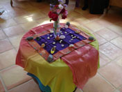 Shamans altar table