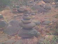 Sedona stones